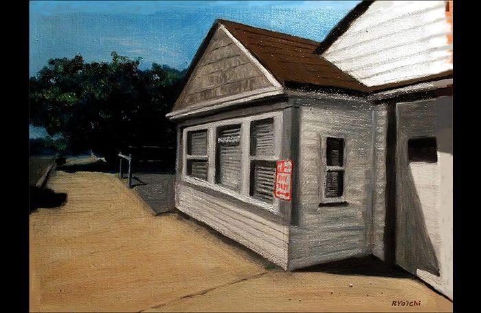001-07 Harrison Summer, 2016, oil on canvas, 12x9