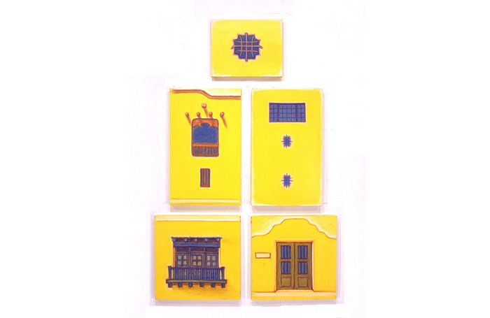 003-08 Door and Window-2, Santa Fe, 2004, 109 x 71cm, ,oil on canvas, $3,800  (Set of 5pcs)