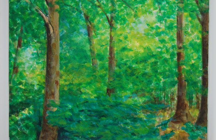 "006-10  Tree 991  11""x7 3/4"" watercolor $500"